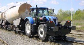 NewHolland T7.170 Rail route