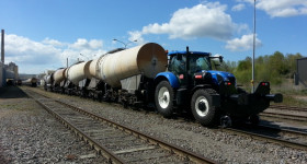 NewHolland T7.175 Rail route