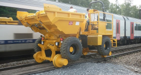 Dumper rail route sur rails