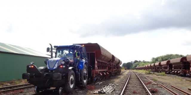 New Holland T7.175 Rail route