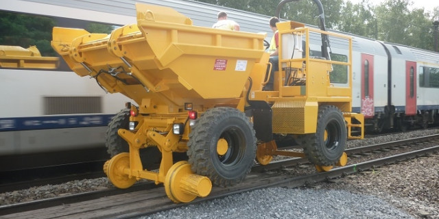 Dumper rail route